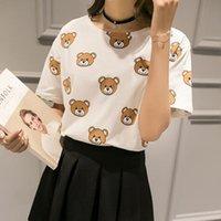 american apparel ties - Vogue Bananas T Shirt Women Summer fashion Tie Dye Kawaii Anime Totoro bears White American Apparel Short Tops Camisetas Mujer