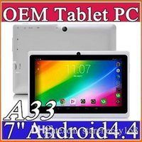 other cheap tablet - 40X DHL cheap tablets wifi inch MB GB ram A33 Quad Core Allwinner Android Capacitive Tablet PC Dual Camera facebook Q88 A PB
