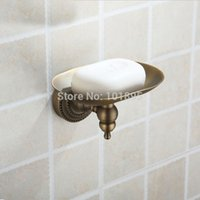 Wholesale Retail Luxury Brass Soap Holder Bronze Color and Wall Mounted Bathroom Soap Holder X16005G