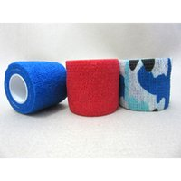 adhesive bandage - comfortable and convenient popular strong elastic non woven self adhesive bandage for sports for medical use and first aid