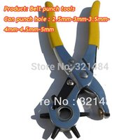 Wholesale Revolving Leather Belt Canvas jewelry punch tools mm hole punch pliers
