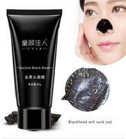 Wholesale Face Mask Suction Black Head Peel Masks Deep Cleansing Tearing Blackhead Remover Purifying Whitening Mud Cream g