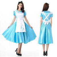 bars snow - Halloween cos Snow White queen skirt outfit club bar maid servant beer role play under