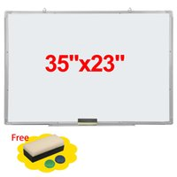 dry erase board - 35x23 quot Single Side Magnetic Writing Whiteboard Office School Dry Erase Board