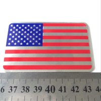 american lincoln - 1pcs Car Styling The United States American Flag Car stickers For Cadillac Buick Chevrolet Lincoln Chrysler Jeep Dodge Focus