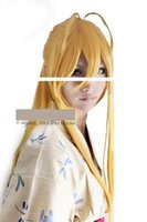 Wholesale WigShow Londe Highschool of the Dead Rei Miyamoto Long Cosplay Party Wigs free Wig Cap