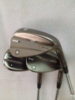 Wholesale Golf clubs Vokey SM6 Wedges Degree Black silver Champagne SM6 Golf Wedges With Steel shaft