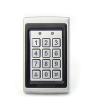 access control panels - Anti smashing water proof KHZ EM RFID Access Control Keypad Card Access Control Door Opener