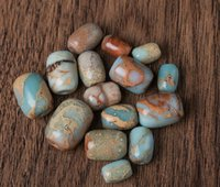 Wholesale A natural DIY accessories chapter material Shoushan stone drum loose bead waist semi finished products