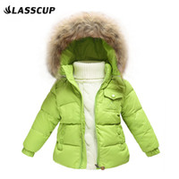 baby ski suits - Children Winter Down Jacket Boys Warm Outerwear Girls Winter Coats Years Kids Ski Suit Jumpsuit For Boys Baby Overalls J10