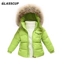 baby ski jackets - Children Winter Down Jacket Boys Warm Outerwear Girls Winter Coats Years Kids Ski Suit Jumpsuit For Boys Baby Overalls J10