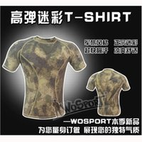 Wholesale Special forces tactical python pattern camouflage clothing hunting clothes mountaineering fishing shirt Quick drying T shirt