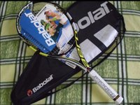 Wholesale HOT Pro Staff Six High quality pure drive GT tennis racket carbon fiber material on topGrip size