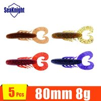bass fishing jerkbaits - 5pcs Bass Fishing Lure Sot jerkbaits and shad tails Drop shot baits Trailers Craws Soft stickbaits Toads Worms Baits mm g