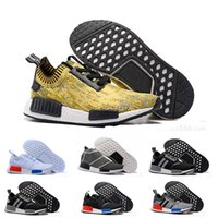 authentic real - 2016 Real Rushed Nmd Runner Primeknit NMD Boost Primeknit Boost Perfect Authentic Running Sneakers Fashion Running Shoes