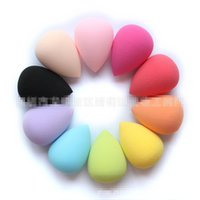 Wholesale Women Makeup Sponges Cosmetic Puff Professional Make up Foundation Sponge Powder Puff Flawless latex Beauty Makeup Tool