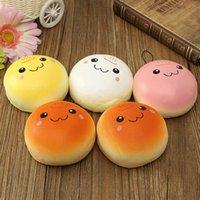 baby buns - Hot Sale Jumbo cm smile marshmallow bun squishy phone charm Squishy Pendants Baby Toys New Arrivals