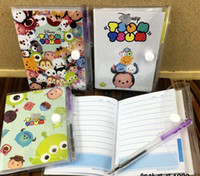 Wholesale Hot Sale Cartoon Tsum Notebook With Ballpoint pen CMx8 CM Study Stationery Set Cartoon Toy Gifts Favors