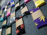 Cheap Factory Price Printed Socks Cotton Calcetines Deporte Men Socks Unisex Maple Leaf Skateboard Basketball Sport Socks Freeshipping
