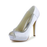 Cheap High Heel Fashion Women wedding shoes High Heel Wedding Dress Shoes Bridal Shoes Party Prom Women Shoes bridal shoes