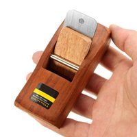 Wholesale 4 quot mm Mini Japanese Hand Planer Carpenter Hard wood Hand Tools Easy for Sharpening