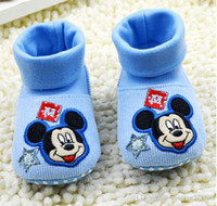 Wholesale Cartoons baby soft bottom toddler shoes new months children fashion snow boots candy colors girls boots in stock pair B3