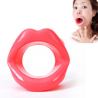 Cheap Hot Selling Adults Toys Opening Mouth Gag Sexy Lip Mouth Plug Female Oral Sex Gag Bondage Restraints Fetish for Couples FF0043