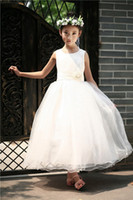 Cheap Children Wedding Gauze Skirt Best Summer Girls Clothing