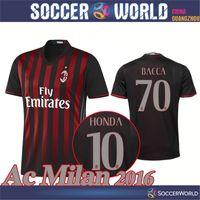 Wholesale Ac Milan shirts AC Milan Top quality MENEZ HONDA BACCA shirts