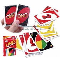 Wholesale standard edition family friends party fun entermainment board game UNO cards UNO cards set kids funny puzzle card games uno cards