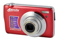Wholesale AMKOV Digital Camera MP quot LCD X Optical X Digital Zoom