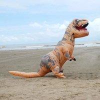 activities park - Global hot style adult children Jurassic park Tyrannosaurus rex inflatable costumes Halloween mascot costumes funny activities