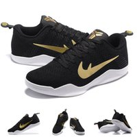Wholesale With shoes Box Kobe XI GCR Black Gold Great Career Recall Men Shoes