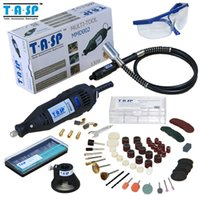 Wholesale 220V W Electric Dremel Rotary Tool Variable Speed Mini Drill with Flexible Shaft and Pieces Accessories Power Tools