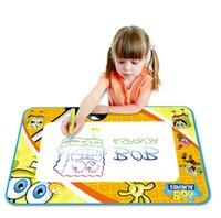 animal exercise pen - Aqua Doodle Children s Drawing Toys cloth Mat Magic Pen Educational Toy Mat Water Drawing Pen Size cm HT368