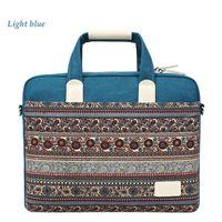 Wholesale 2016 new cheap Geometric laptop handbags for men Ethnic style inch canvas Unisex laptop bags