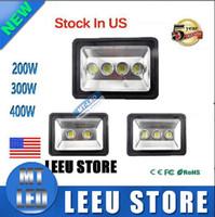 Wholesale US stock led Floodlight W W W Outdoor LED Flood light lamp waterproof LED Tunnel Fishing boats light street lamps AC V
