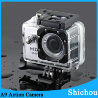 action camera reviews - cheap action camera a9 sport dv recorders m IP68 waterproof bicycle dvr tft lcd action camera reviews camcorder C