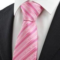 Corbatas Hombre Corbatas Corbata rosada del lazo para hombre del patrón de la flora para los hombres Corbata del juego para el regalo formal KT0037 del día de fiesta del negocio del negocio