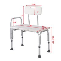 adjustable bath bench - Shower Bath Seat Medical Adjustable Bathroom Bath Tub Transfer Bench Stool Chai