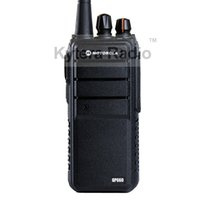 Wholesale GP660 Professional Walkie Talkie W Power mAh UHF MHz Long Range PTT Portable Two Way Radio Headset for Motorola