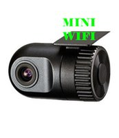 Wholesale gps Dash Cam Dashcam DVR Car DVR P WIFI degree High Quality No screen Super Mini Size