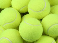 Wholesale Tennis ball durable and good elasticity round training hard ball Racquet Sports