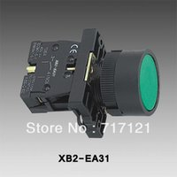 Wholesale 2015 hot sell mm NO N O Green Sign Momentary Push Button Switch V A XB2 EA31
