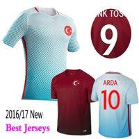 turkey - Thai Quality New Turkey soccer jersey ARDA home away CENK TOSUN Turkey football shirt soccer jersey