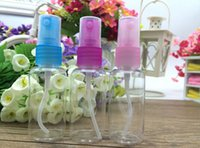 Wholesale ML PET Bottles Plastic Spray BottleS of Perfume Bottles Clear bottle with Cheapest Price