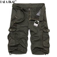 Wholesale Men Outdoor Shorts Loose Running Shorts Men Army Short Pants Bermuda Hiking Climbing Camouflage Cargo Military Shorts HMH0060