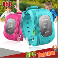 activity for children - New Q50 Kids Smart Watch GPS LBS Double Location Safe Children Watch Activity Tracker SOS Card for Android and IOS