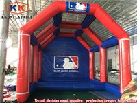 batting cage - 16 Feet Giant Durable PVC Tarpaulin Baseball Inflatable Batting Cage for Sale