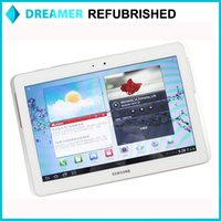Wholesale 100 Original Samsung TAB P5100 inch x1280 GB RAM GB ROM MP microSD up to GB Support for GSM